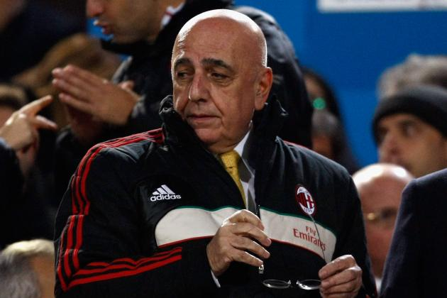 Galliani: AC Milan Cannot Afford to Think About Barcelona Yet