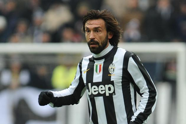 Juventus Star Andrea Pirlo Fears Man Utd and Real Madrid