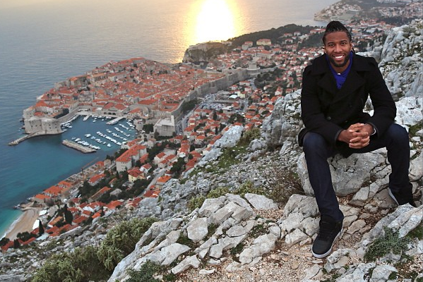 Instagram: Larry Fitzgerald Hiking in Croatia