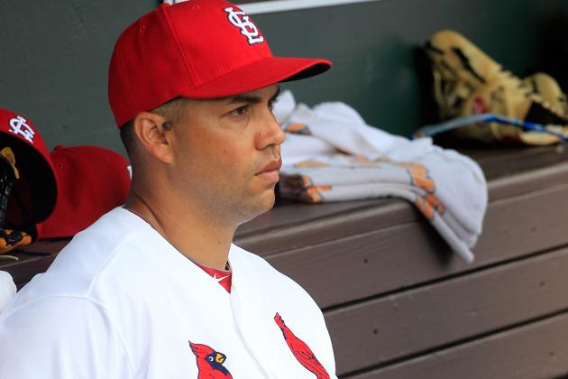 Cards' Westbrook, Beltran Sidelined by Injuries