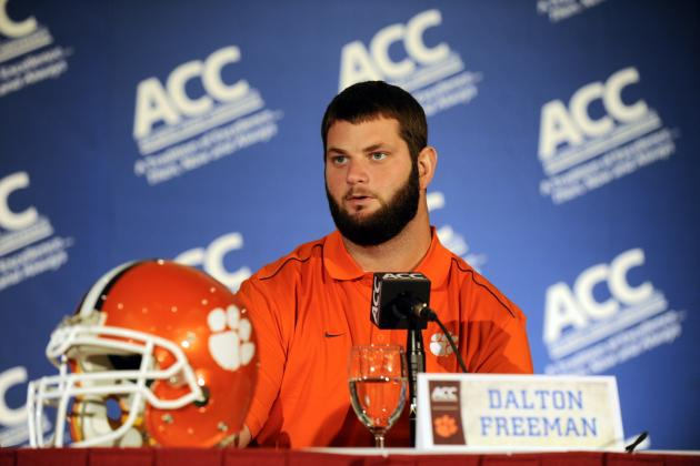 Dalton Freeman Becomes Clemson's First 4-Time Academic All-ACC