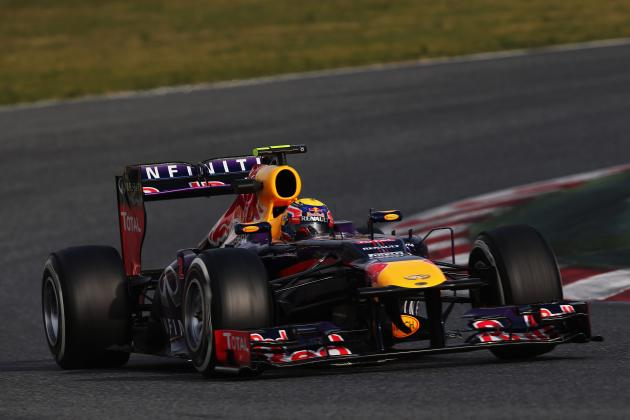 Barcelona Day 1: Webber Fastest as It Rains Again in Spain