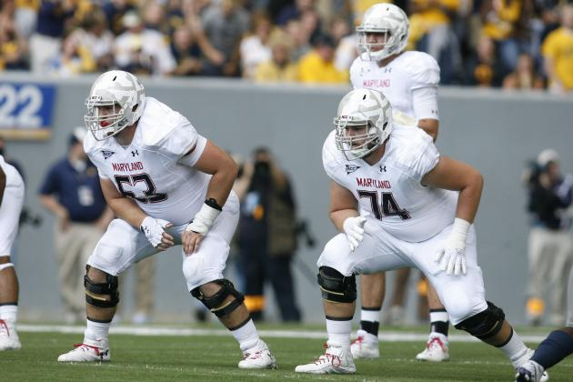 After 'Embarrassing' Season, Terps' Offensive Line Working to Forget, Improve