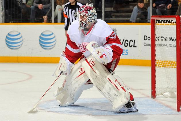 Gustavsson to Make 1st Start vs Sharks