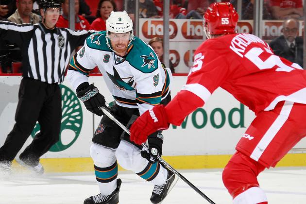 Sharks-Red Wings at a Glance