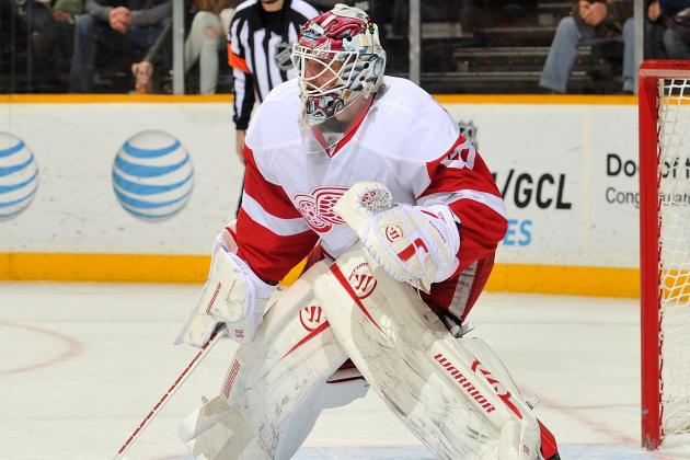Gustavsson Gets 1st Start vs Sharks
