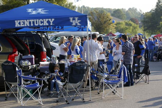 Kentucky Spring Football Ticket Orders Already Top 20,000