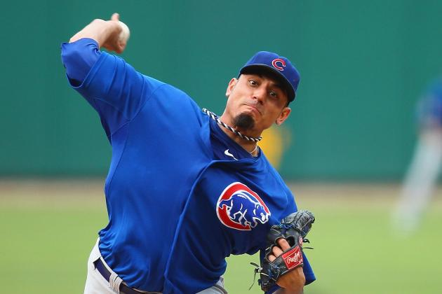 Garza Isn't Going to Rush Back to Cubs Rotation