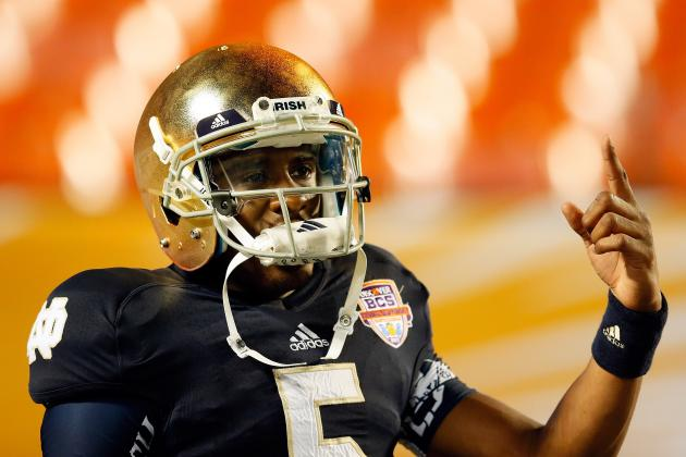 Notre Dame Football: Everett Golson Will Drastically Improve in 2013
