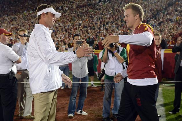 Lane Kiffin on Matt Barkley: He's Going to Be a Great NFL Starting QB