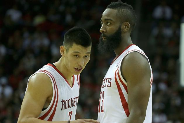 Banged Up Harden and Lin Miss Practice
