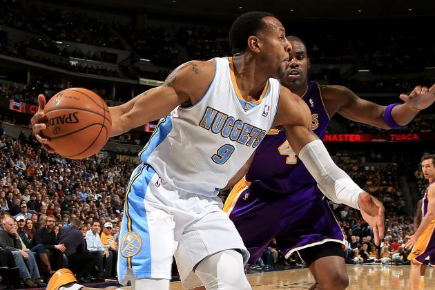 Andre Iguodala Finding Comfort Zone with Denver Nuggets