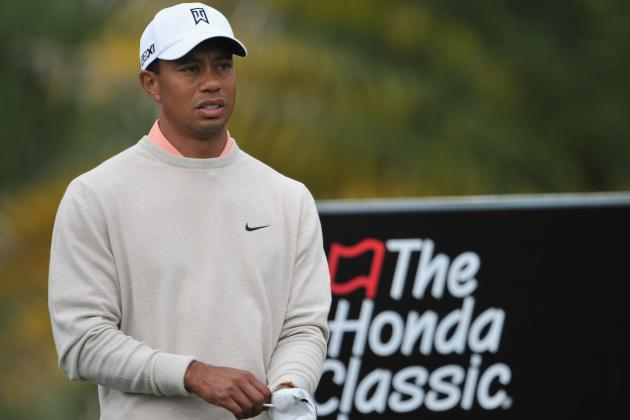 Tiger Woods Continues to Tease Us After First Round at 2013 Honda Classic
