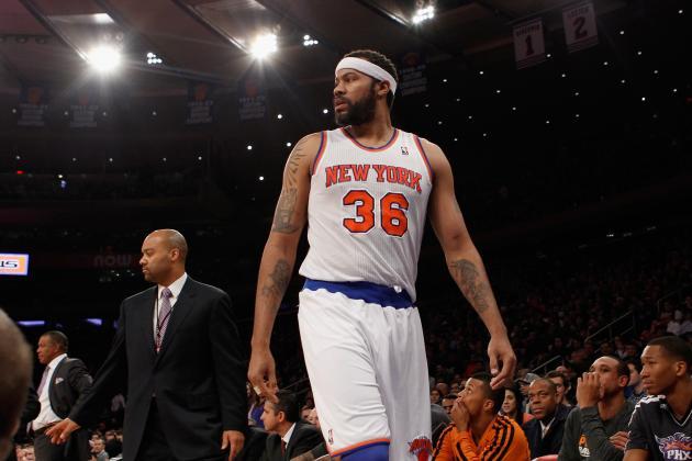 New York Knicks: Breaking Down the Impact of Rasheed Wallace's Injury Setback