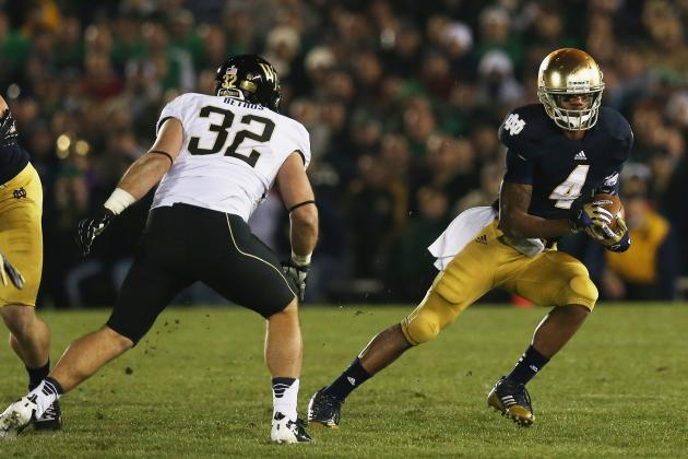 Notre Dame Football: Breaking Down the Battle for the Starting RB Spot