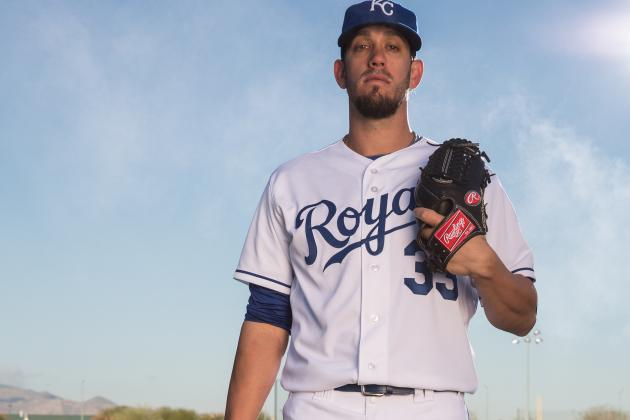 It's Just One Inning, but Shields Is Sharp in Royals' Debut