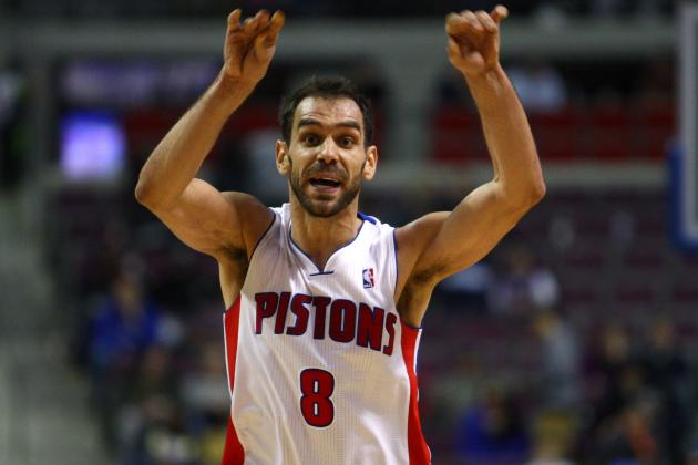 Jose Calderon's Playmaking Key for Pistons