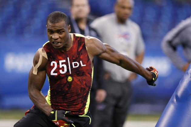 Dion Jordan Combine: Big Performance Solidifies Top 10 Draft Stock