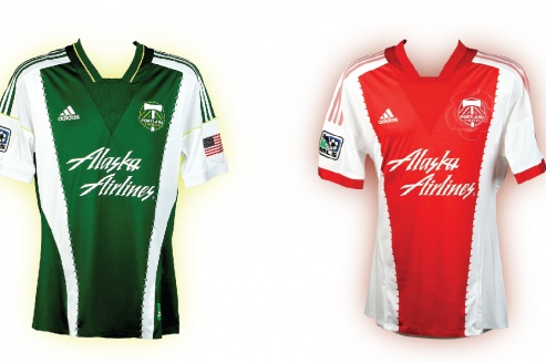 Timbers Unveil New Jerseys at Portland 'Last Thursday' Art Gallery Event