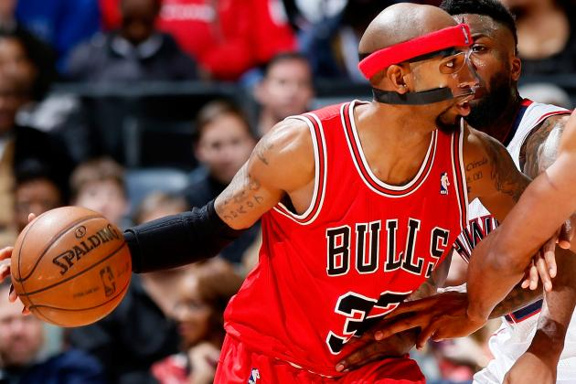 Bulls' Hamilton Sits vs. 76ers with Back Spasms