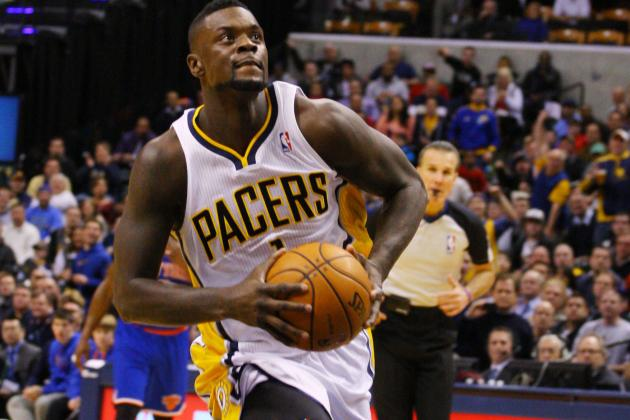 Lance Stephenson Grateful for Roy Hibbert's Help