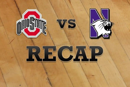 Ohio State vs. Northwestern: Recap, Stats, and Box Score