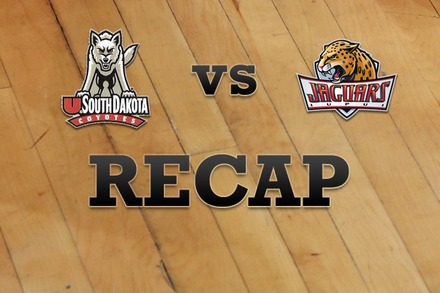 South Dakota vs. IUPUI: Recap, Stats, and Box Score
