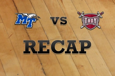 Middle Tenn State vs. Troy: Recap, Stats, and Box Score