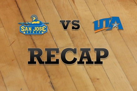 San Jose State vs. Texas-Arlington: Recap, Stats, and Box Score