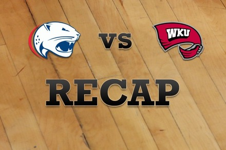 South Alabama vs. Western Kentucky: Recap, Stats, and Box Score