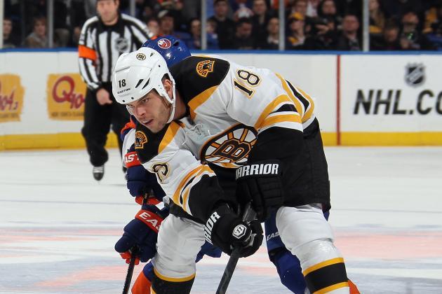 Boston Bruins Snap Ottawa Senators' Five-Game Win Streak in Overtime