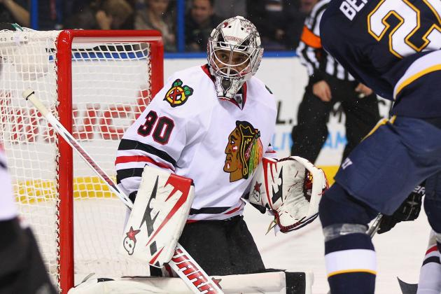 Chicago Blackhawks: Corey Crawford's Departure Dampens Domination of St. Louis