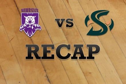 Weber State vs. Sacramento State: Recap, Stats, and Box Score