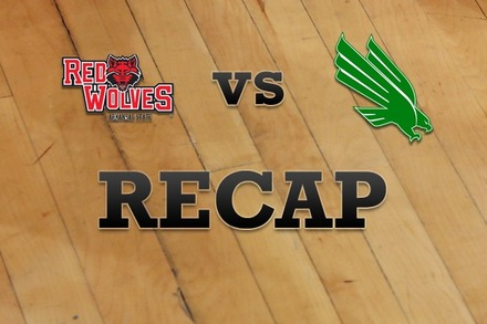 Arkansas State vs. North Texas: Recap, Stats, and Box Score