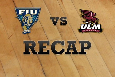 FL Internationial vs. Louisiana-Monroe: Recap, Stats, and Box Score