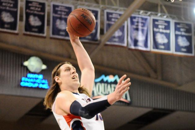 Olynyk Redshirts to Become Main Catalyst for Surging Gonzaga
