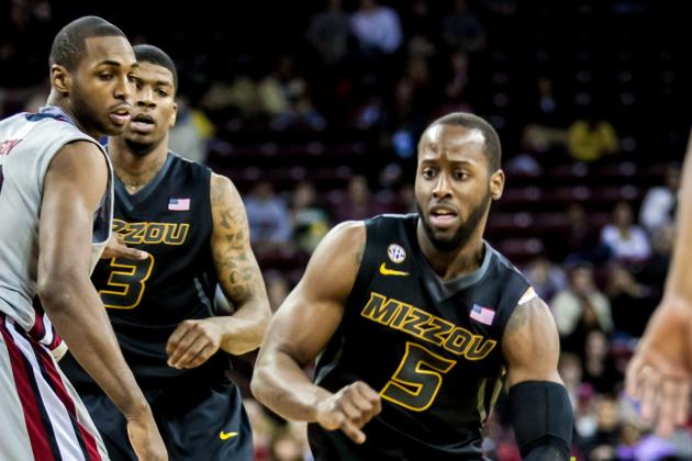 Missouri's Offensive Attack Leads to 90-68 Win over South Carolina