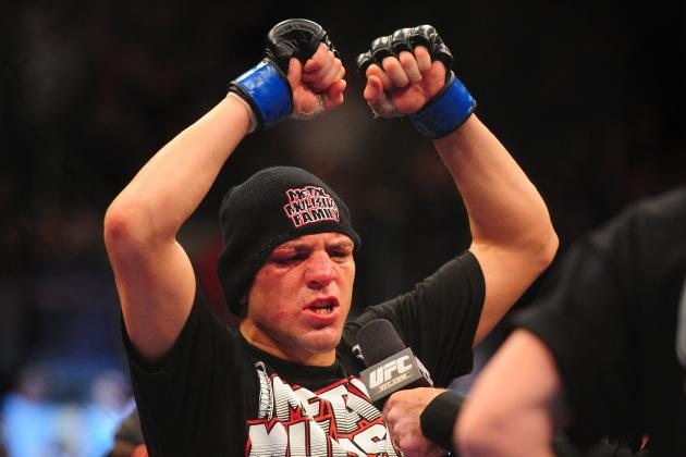 UFC Star Nick Diaz Says GSP Is Crazy: 'I Would Be Asking for Anderson Silva'
