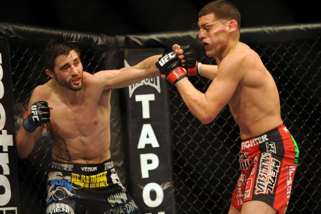 Carlos Condit Predicts 'Another GSP Decision' When St-Pierre Faces Diaz