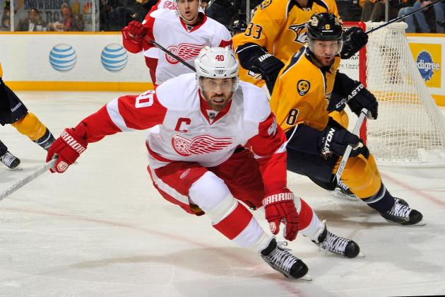 Grading Henrik Zetterberg's Red Wings Captaincy Early in the 2013 Season