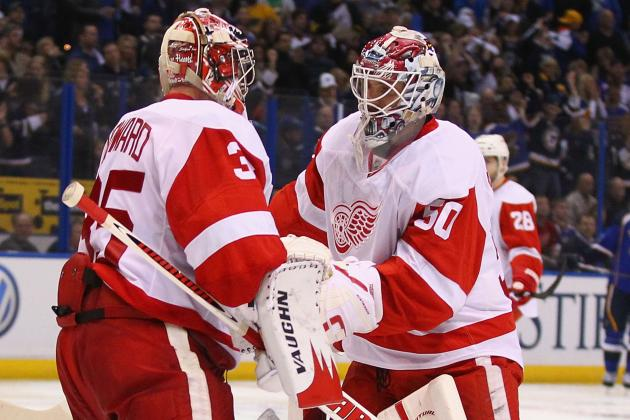 Detroit Red Wings: Jonas Gustavsson Will Help Take the Pressure off Jimmy Howard