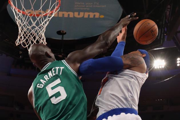 Does Kevin Garnett Have a Case for Defensive Player of the Year?