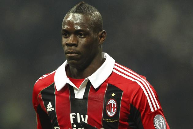 Balotelli out of Milan-Lazio