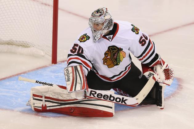 Chicago Blackhawks: Oshie May Have Delivered 'Defining Blow' to Corey Crawford