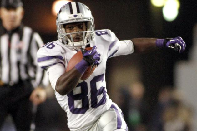 K-State Receiver Arrested, Posts Bond