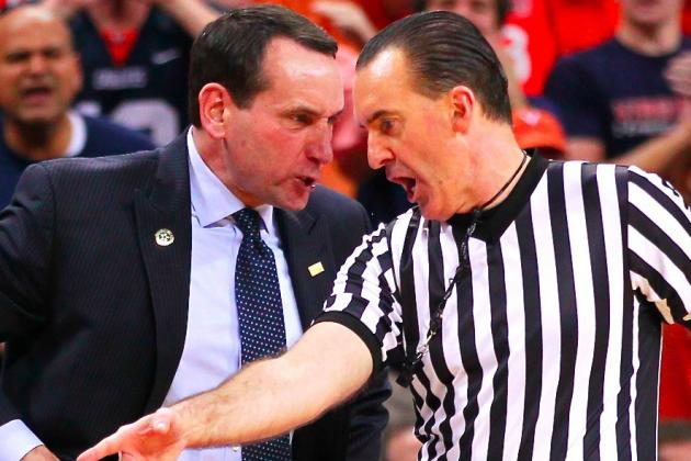 Mike Krzyzewski Concerned with Player Safety After Virginia Fans Storm Court