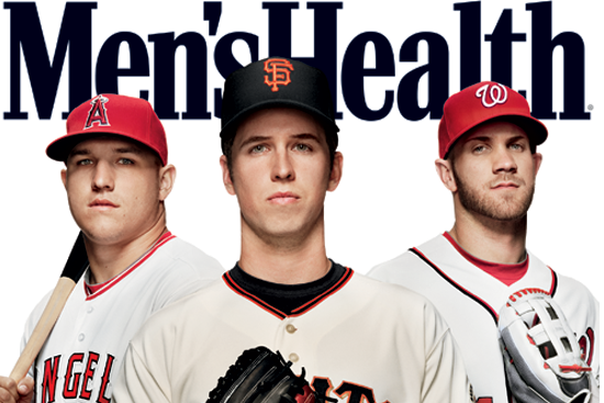 Posey, Trout, Harper Grace Cover of Men's Health Mag