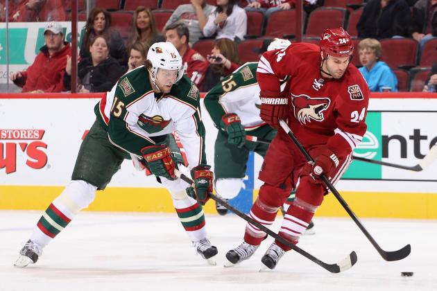 Coyotes Lack of Scoring, Poor Defense Doom Chances Against Wild