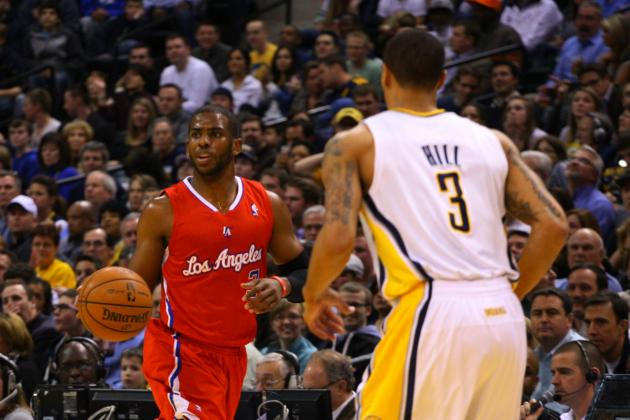 Chris Paul Drops Paul George with a Nasty Crossover and Spin
