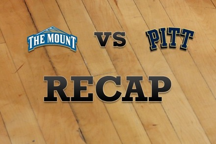 Mount St. Mary's vs. Pittsburgh: Recap, Stats, and Box Score